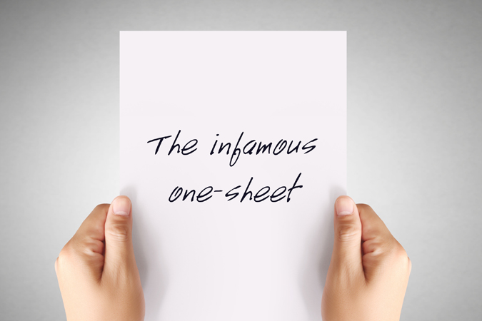 One-sheet