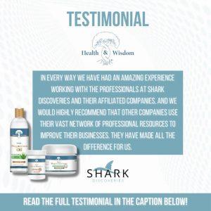 Testimonial Health and Wisdom Inc